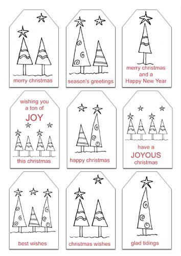 Free Christmas Printables Gift Tags And Notepaper With Envelopes